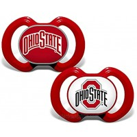 Baby Fanatic NCAA Legacy Infant Pacifiers 2-Pack