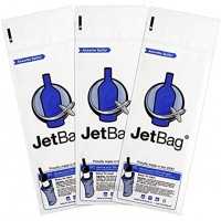 Jet Bag Bold The Original ABSORBENT Reusable & Protective Bottle Bags Set of 3 MADE IN THE USA