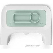 ezpz by Stokke Placemat for Clikk Tray Soft Mint Perfectly Fits Stokke Clikk High Chair Tray Helps Prevent Messy Mealtimes Durable Convenient Dishwasher & Microwave Safe 100% Silicone