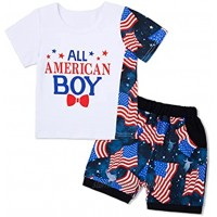 Baby Boy Clothes Summer Outfits Newborn Infant Toddler Boy Short Sleeves + Shorts Boy Outfits Sets