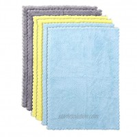 Ultra Absorbent Burp Cloths for Baby Boys and Girls 6-Pack Ultra Soft Burping Cloth Newborn Towel Milk Spit Up Rags Burpy Cloth for Unisex 16 x 12 Inch
