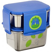 Skip Hop Toddler Stainless Steel Lunch Box Kit Zoo Dino