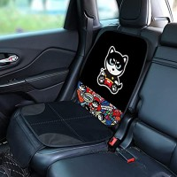 AUTOYOUTH Car Seat Protector for Child Car Seats,Auto car seat Cover Travel Car Seat for Baby and Pet with Thickest Padding and Non-Slip Backing Mesh Pockets for SUV Sedan Truck