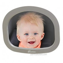 Dreambaby EZY-Fit Adjustable Rearview Backseat Mirror Large Wide Angle Mirror Model L1228BB