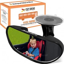Rearview Baby Car Mirror Windshield Infant Front Facing Shatterproof Child Safety Mirror Adjustable Suction Cup S by COZY GREENS