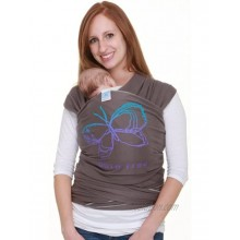 Moby Wrap Baby Carrier Designs Born Free Slate