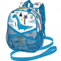 Toddler Backpack with Leash 9.5 Baby Dinosaur Harness Leashes