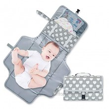 NXY Portable Diaper Changing Pad for Baby Baby Changing Pad Waterproof Use One Hand Only. Travel Changing Pad for Baby Travel