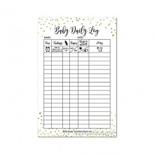 Newborn Baby Log Tracker Journal Book Infant Daily Schedule Feeding Food Sleep Naps Activity Diaper Change Monitor Notes For Babies Mommy Nursing or Breastfeeding Record Tracking Chart 50 Sheet Pad
