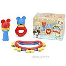 Green Toys Disney Baby Exclusive Mickey Mouse Shake & Rattle Set DSRTS-1435