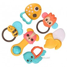 PALA PERRA Baby Rattle 6PCS Infant Rattle Newborn Rattle Teething Toys for 3 Months and up Newborn Baby Toddlers Boys Girls Gifts