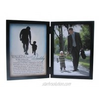 The Grandparent Gift Co. Silhouettes Frame Walking with Daddy
