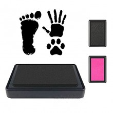 Paw Prints Kit WEWESGAO 2 Pack Ink Pad for Baby Handprint,Non-Toxic Washable Ink Pad Easy to Wipe and Wash Off Skin,Perfect Baby Shower Registry Gift