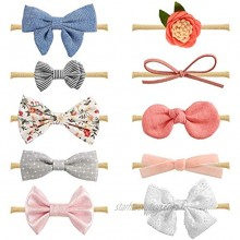 Baby Girl Headbands and Bows Newborn Infant Toddler Hair Accessories by MiiYoung