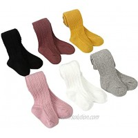 Baby Girl Warm Tights Knit Cotton Leggings Stockings Infant Pants Stocking