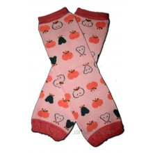 APPLES & PEARS FRUITS Baby Leggings Leggies Leg Warmers for Cloth Diapers Little Girls & Boys & ONE SIZE by BubuBibi
