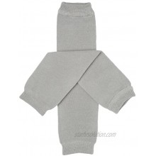 juDanzy Solid Gray Baby and Toddler Leg Warmers
