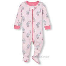 The Children's Place Baby Girls Animal Stretchie 2111345
