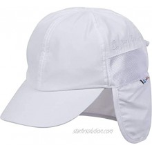 SwimZip UPF 50+ Kids Baseball Hat with Neck Flap and Adjustable Tightener